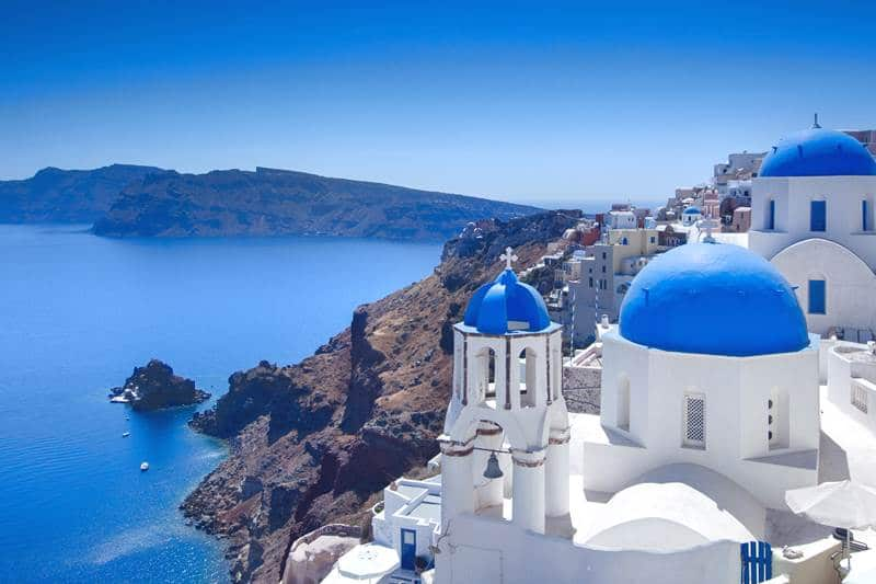 Santorini, best Greek island for couples