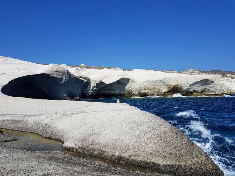 Sarakiniko Milos, best beaches in Milos Greece for travel and leisure
