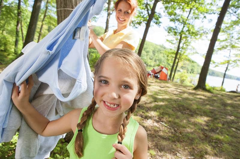 single parent camping tips