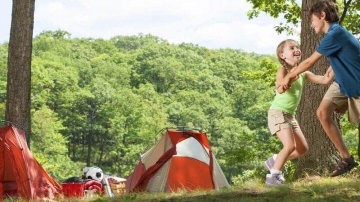Single Parent Camping Tips