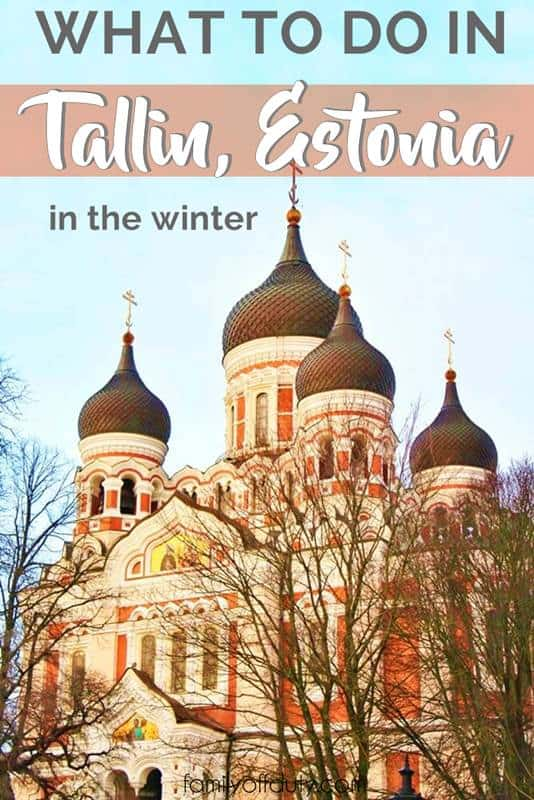 Tallinn things to do in winter
