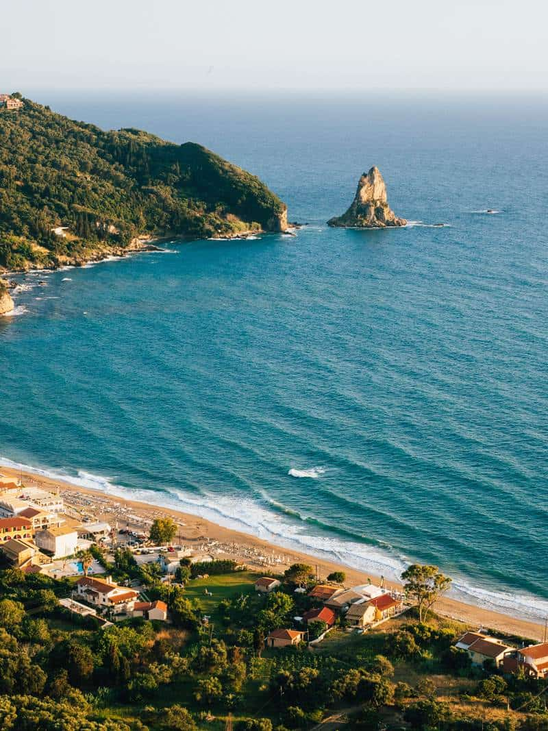 Top 10 beaches in Corfu Greek island