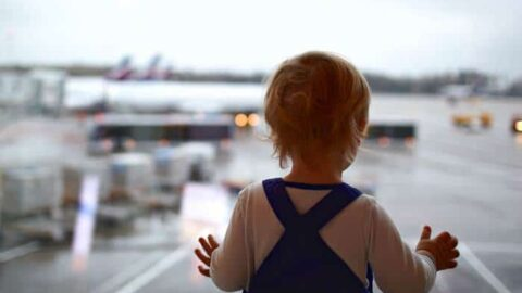 Essentials for traveling with a toddler on a plane