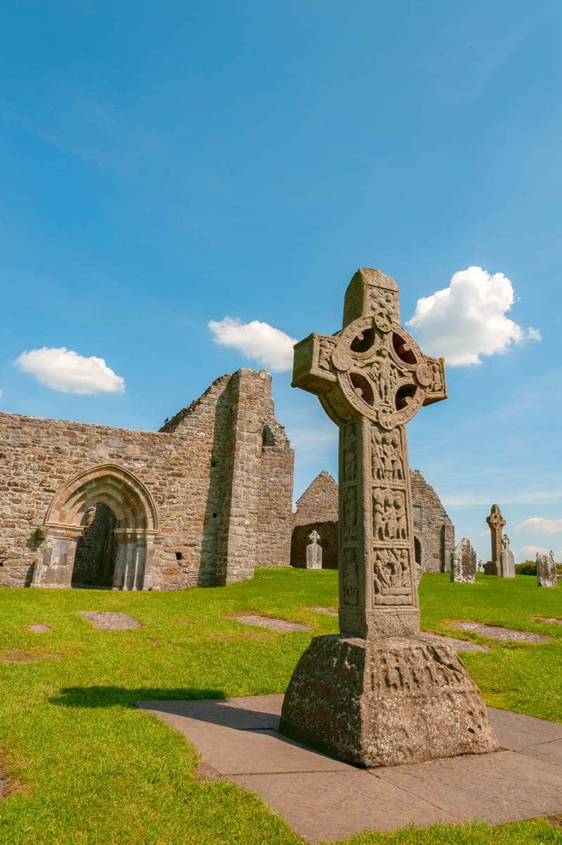 Clonmacnoise monastic site in Co. Offaly