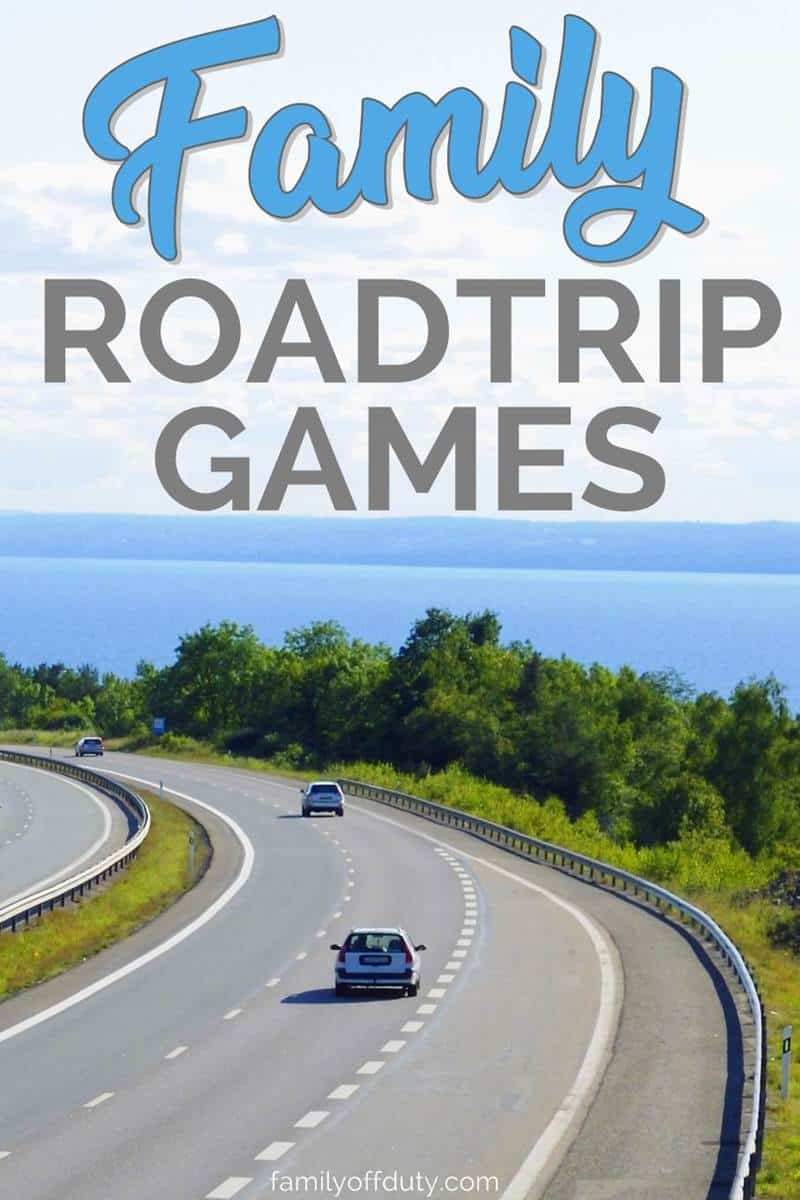 the best family road trip games to keep the whole family busy during long roadtrips