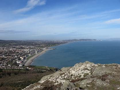 Bray Head day tour from Dublin by dart