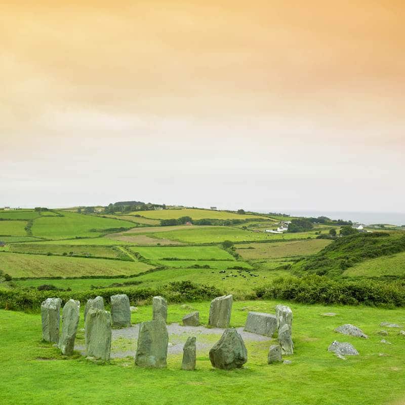 Drombeg stone Circle in Co. Cork