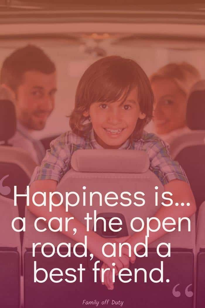 family quotes about road trip