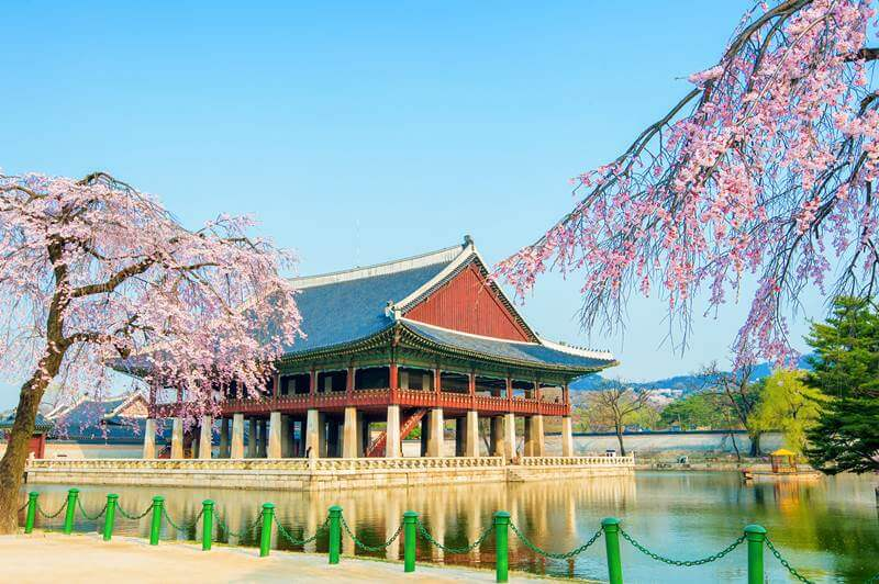 Gyeongbokgung Palace in Seoul is child friendly