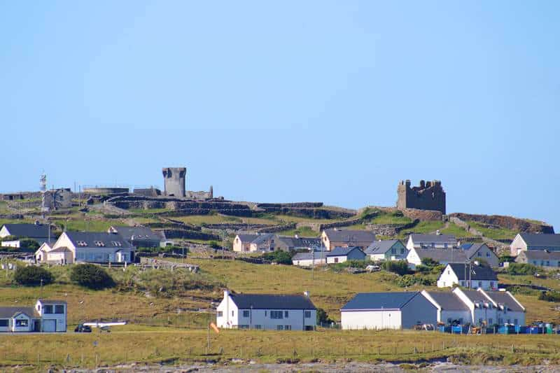 O'Brien's castle at the top of the hill