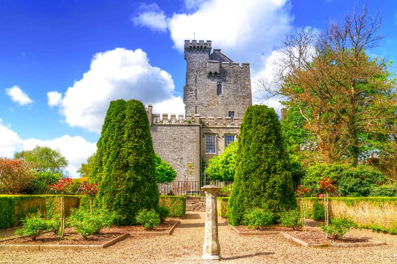 Knappogue castle, Ireland