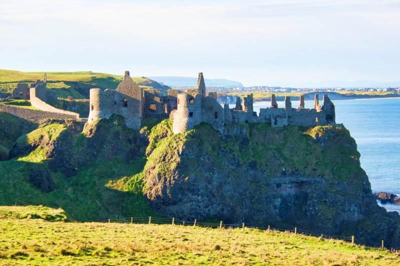 Dunluce castle co Antrim