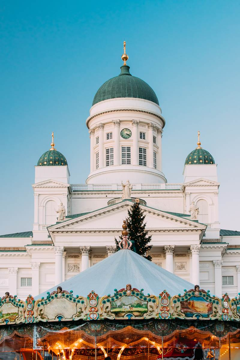 Helsinki in Christmas mood