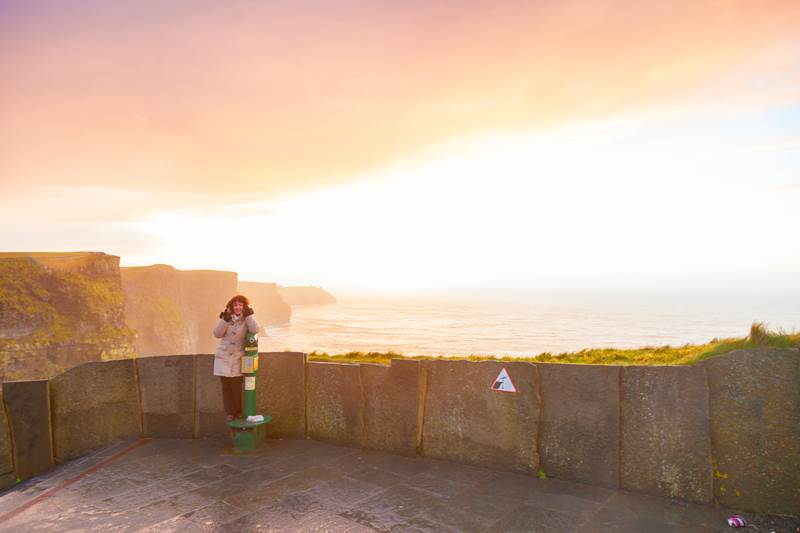 Tips for avoiding the crowds at the Cliffs of Moher