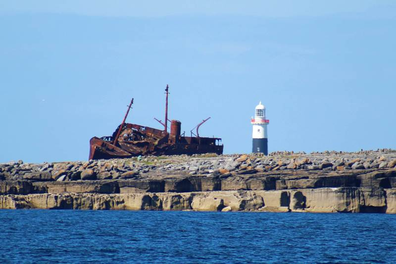 The Plassey and the lighthouse