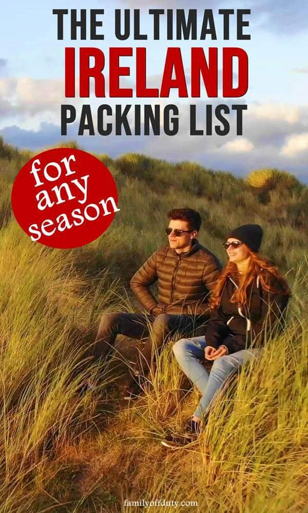 The ultimate packing list for Ireland