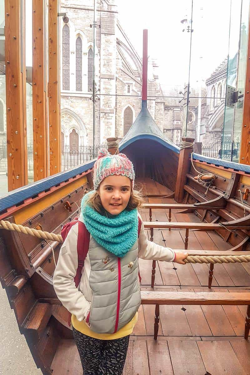 Dublinia museum with kids