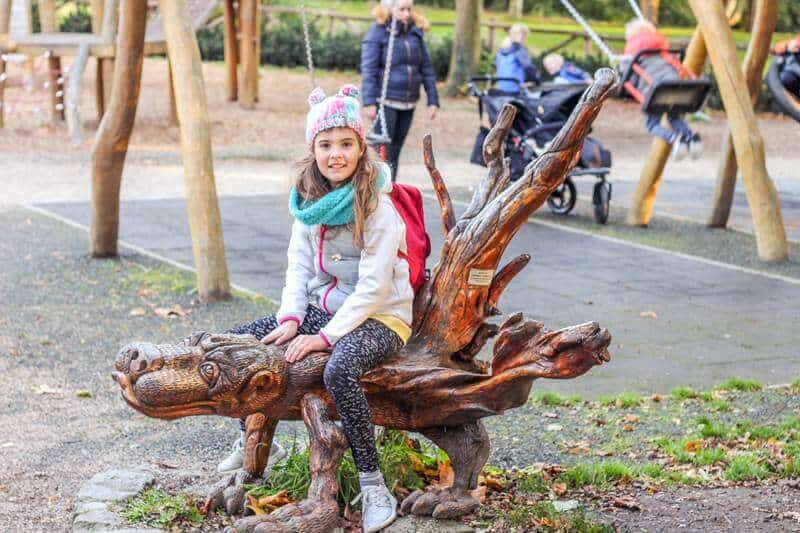Playground at Merrion Square city park