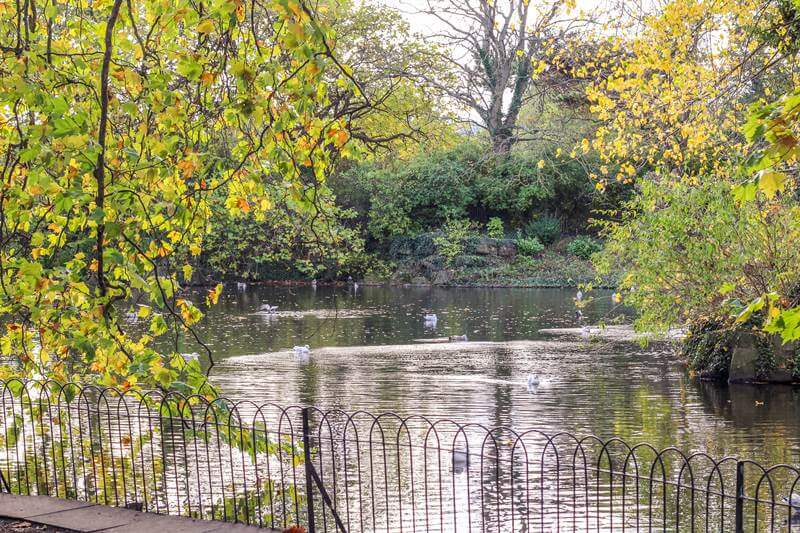 St stephens green city park