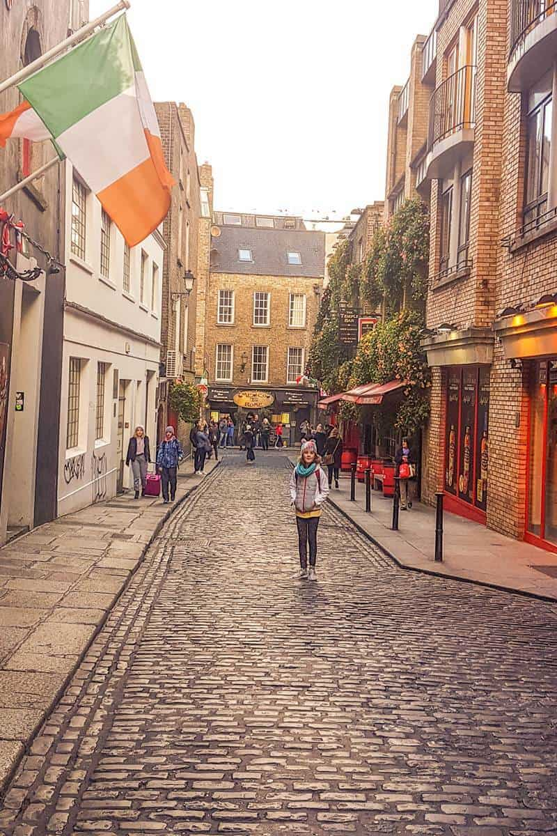 The Temple bar streets