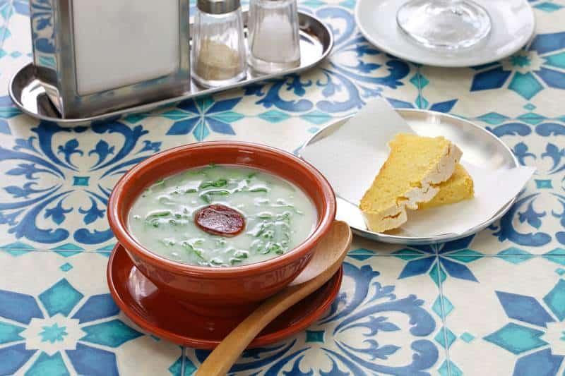 Portuguese caldo verde