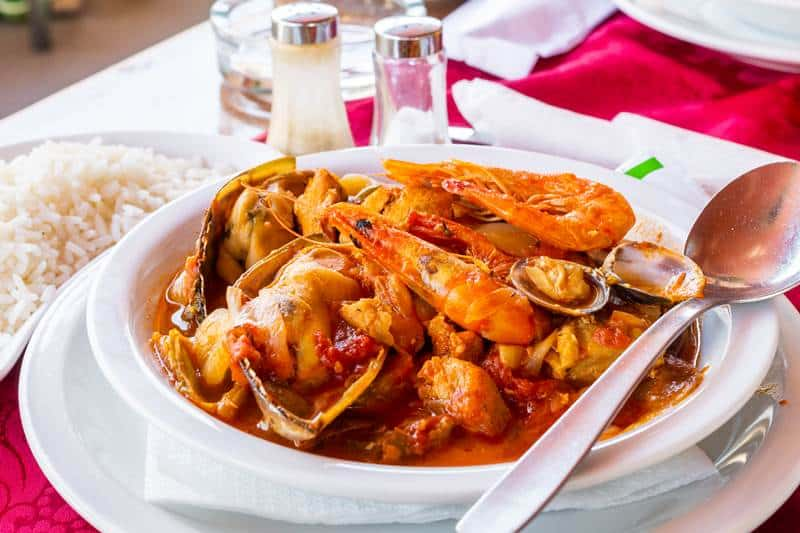 Portuguese cataplana