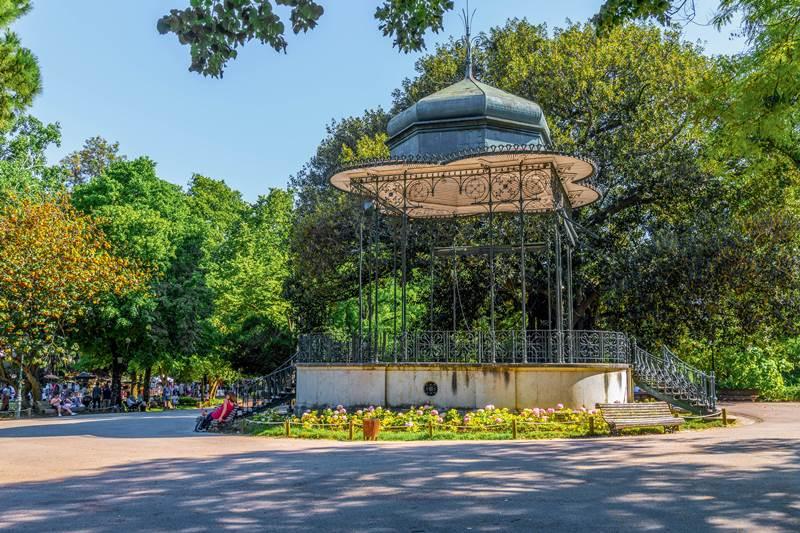 Jardim da estrela in Lisbon