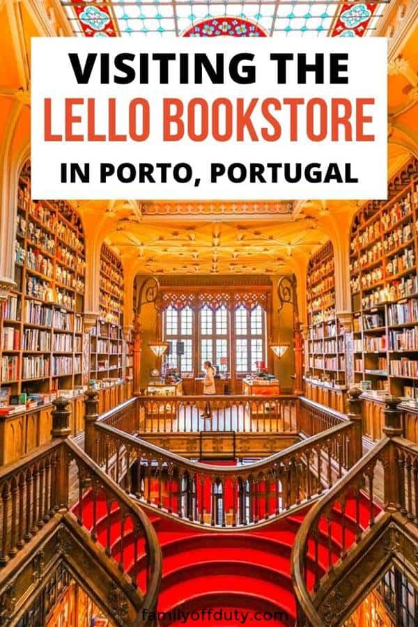 Visiting Livraria Lello bookstore in Porto