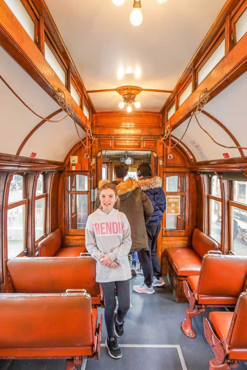 Ride a historical tram in Porto
