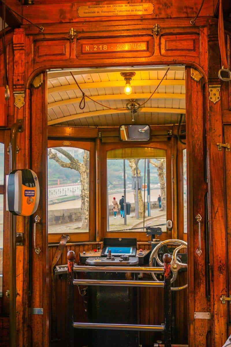 historical old trams
