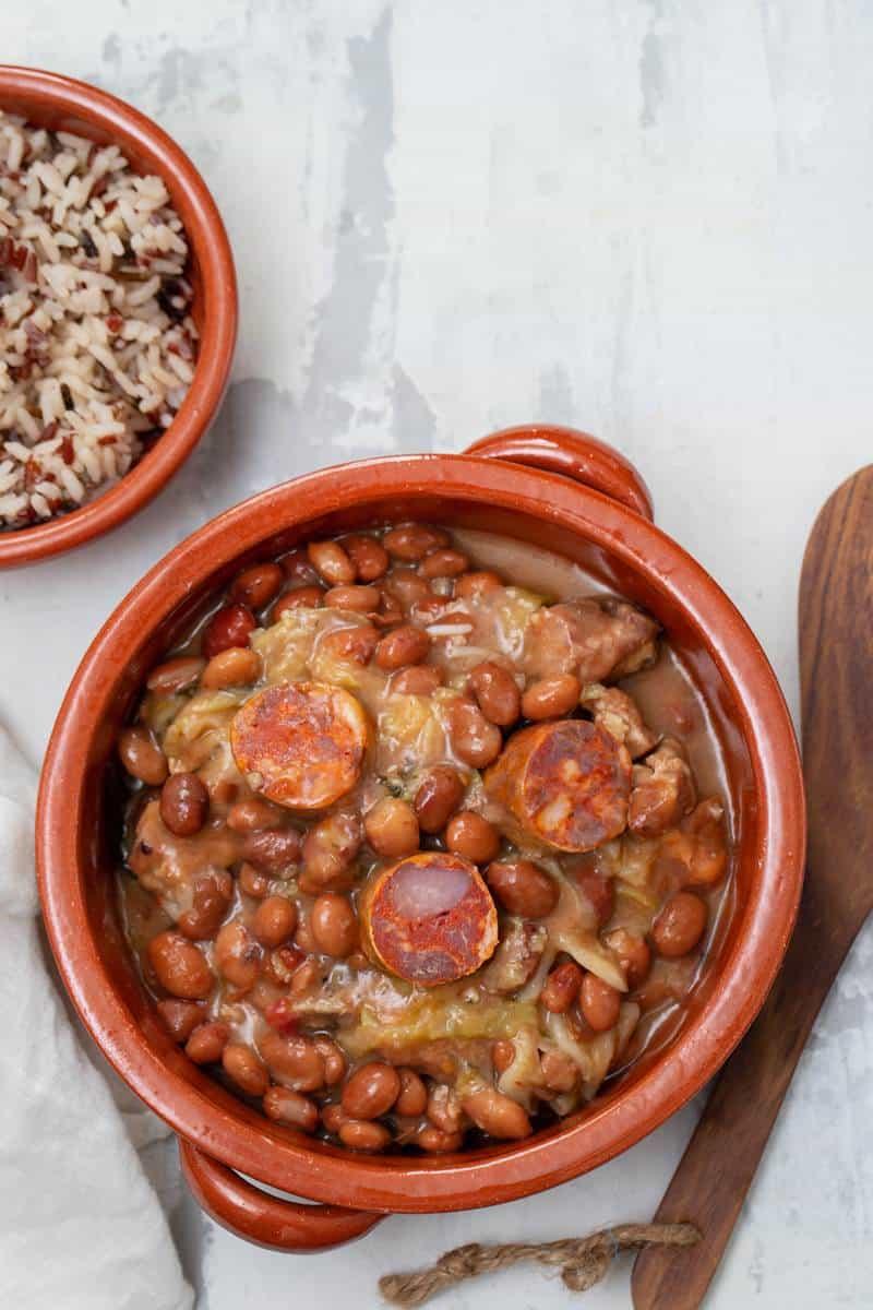 Portuguese feijoada