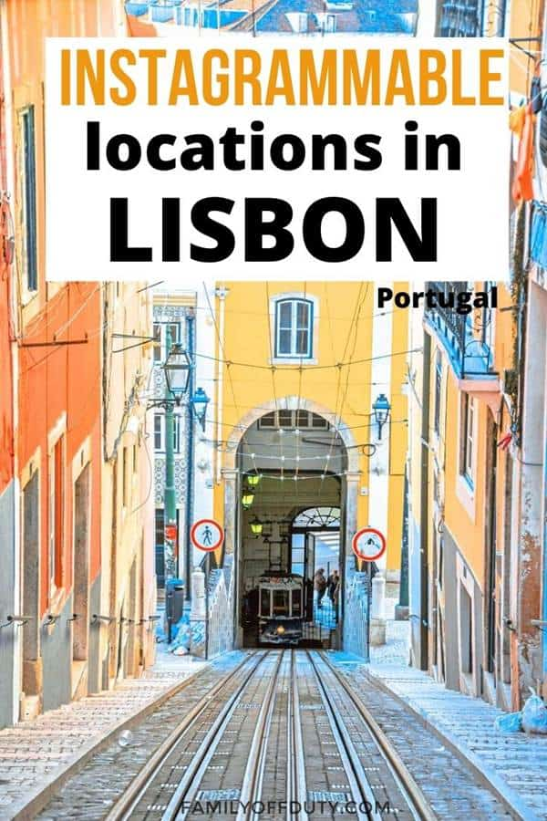 Instagrammable locations in Lisbon