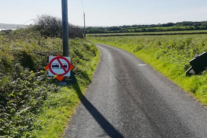 single road ireland