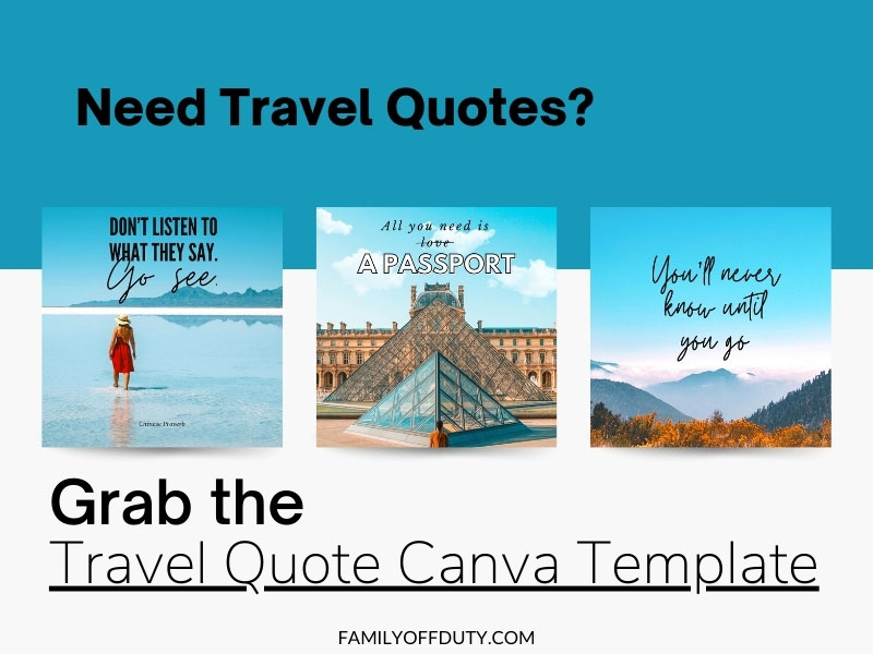 travel posts for social media